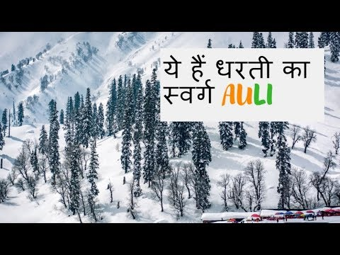 How to Reach Auli from Delhi | Places to visit in Auli | Auli | snowfa...