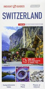 Insight Guides Travel Map Switzerland (Insight Travel Maps) - Insight Guides Travel Map Switzerland Insight Travel Maps 152x300