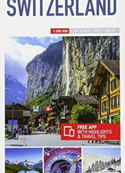 Insight Guides Travel Map Switzerland (Insight Travel Maps) - Insight Guides Travel Map Switzerland Insight Travel Maps 254x350