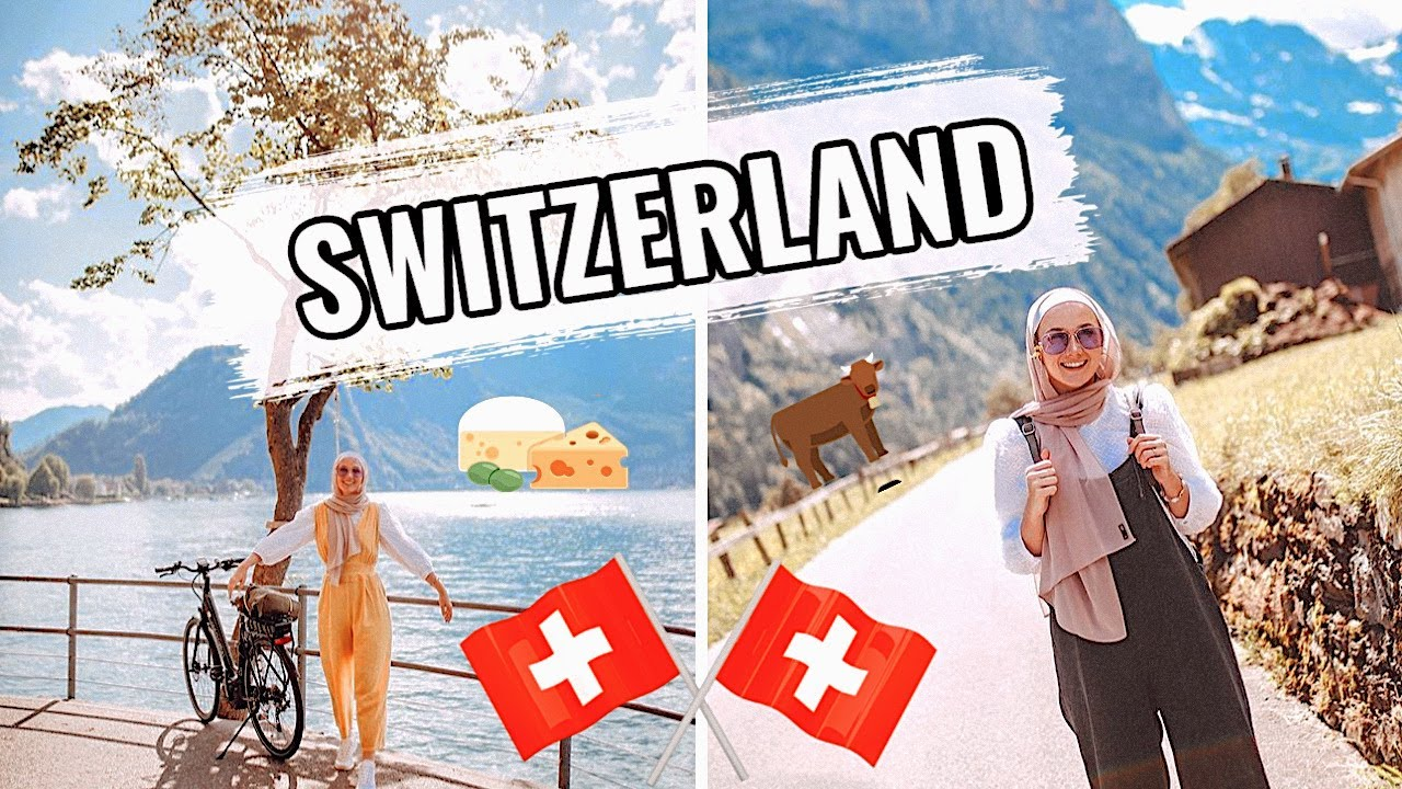 MY SWISS ESCAPE! (The Buergenstock Selection - Visiting Lausanne&B...