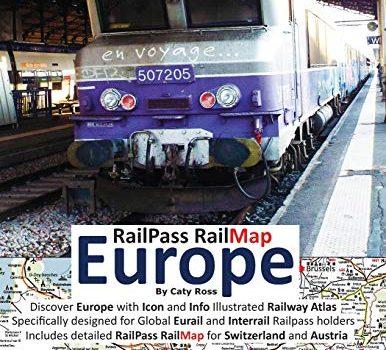 RailPass RailMap Europe 2019: Discover Europe with Icon and Info illus... - RailPass RailMap Europe 2019 Discover Europe with Icon and Info 386x350