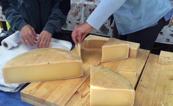 Switzerland Jungfrau Raw Cheese Cutting Swiss Tourism Video