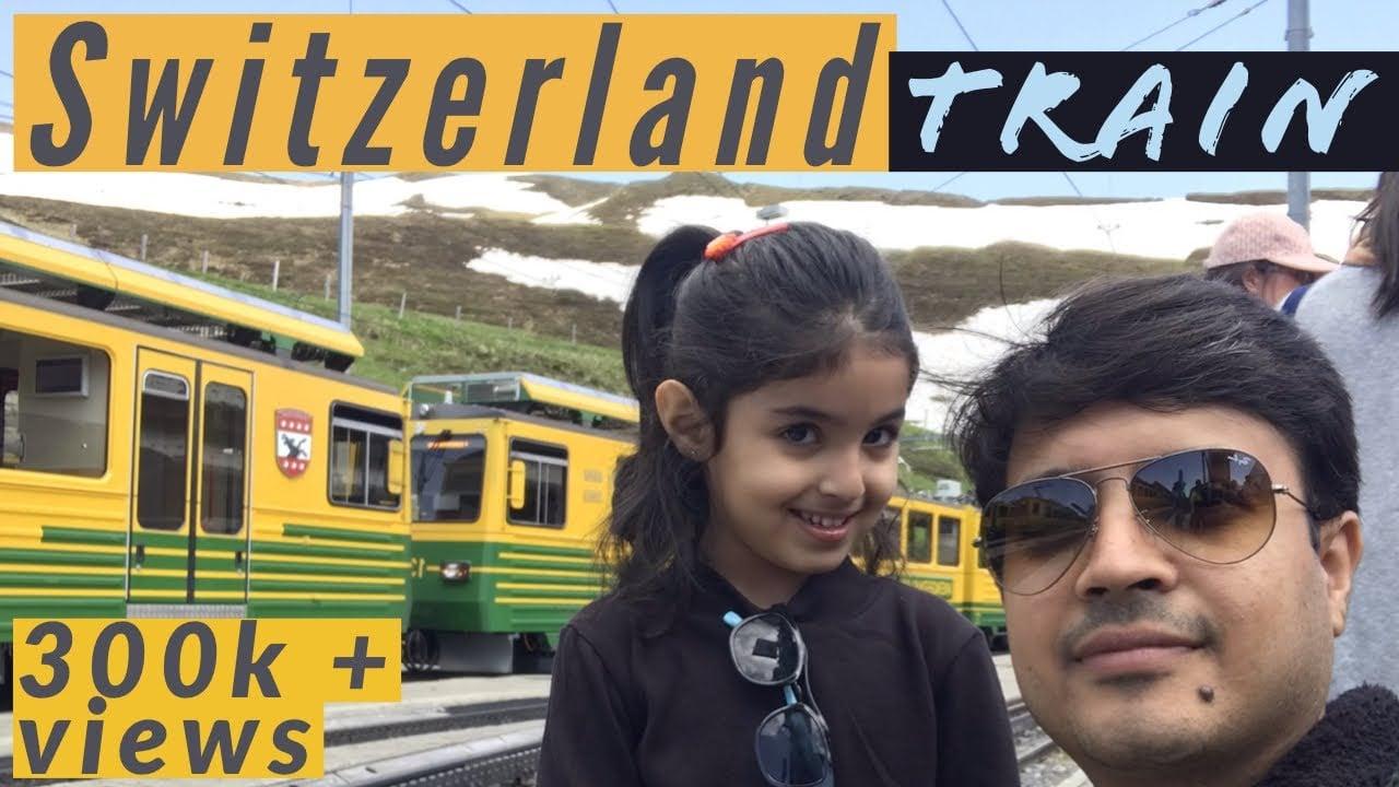 Switzerland Train Journey l Interlaken to Jungfraujoch