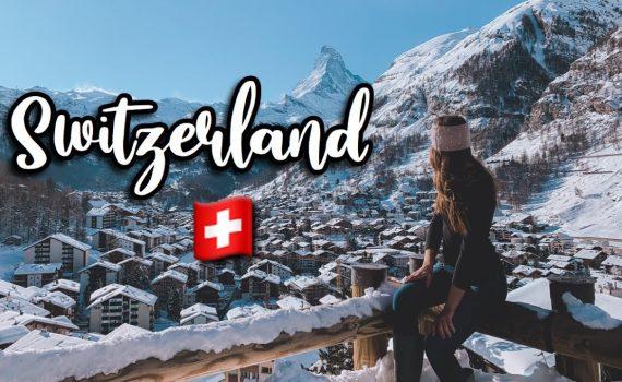 CHRISTMAS IN ZERMATT SWITZERLAND! Seeing The Matterhorn, Visiting Mont...