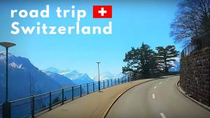 Calm Peaceful Relaxing drive through Switzerland - Swiss Tourism Trave...