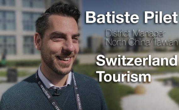 Connections Leaders TV Interview #61 Batiste Pilet, Switzerland Touris...