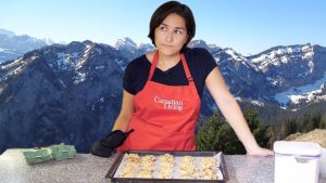 How not to bake Chocolate Chip Cookies in Switzerland