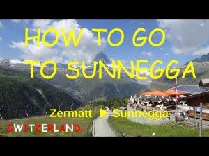 How to go to Sunnegga SWISS Zermatt  switzerland tourism video TRIP RE...