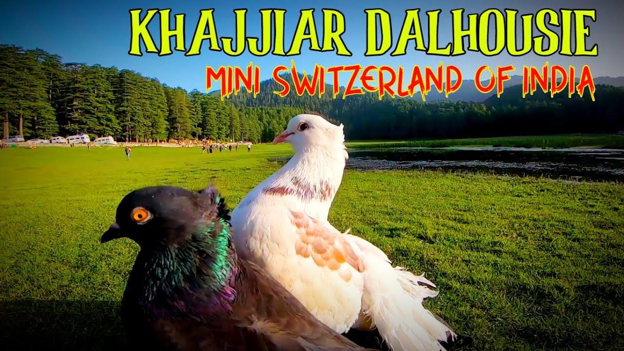 Khajjiar Mini Switzerland Of India I Dalhousie Tourist Places I Himach...