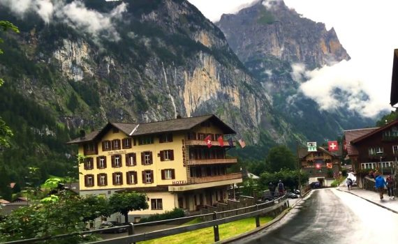 Most beautiful places to see , Murren-Gimmelwald and Lauterbrunnen -Sw...
