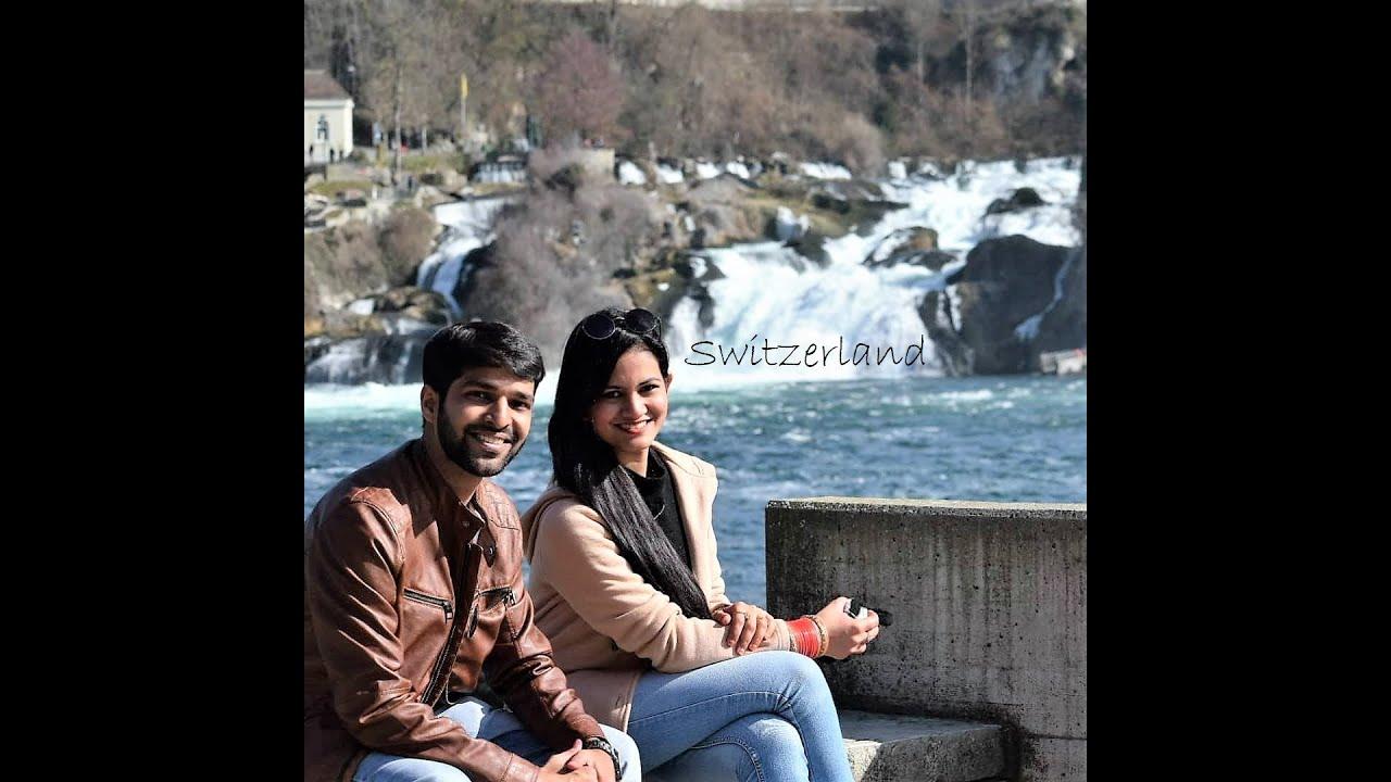 Our Honeymoon in Switzerland & Paris | 2018 | Mrigank & Sakshi