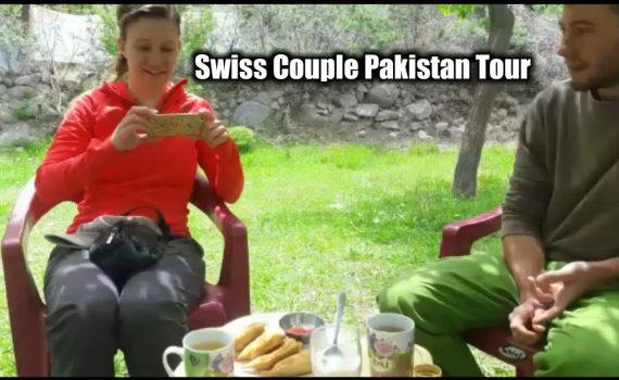 Swiss and English languag. Switzerland tourists explain tour Beautiful...