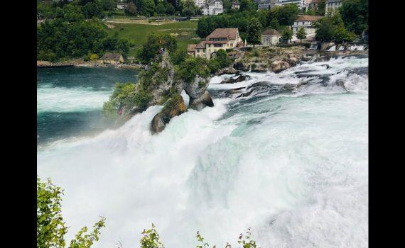 Switzerland Trip to Rhine falls and Zurich city tour | Best top 10 pla...