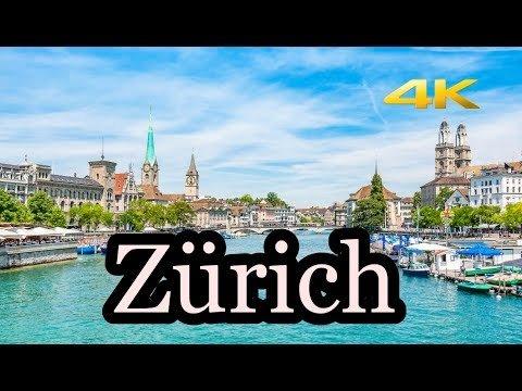 Zurich Switzerland in 4K