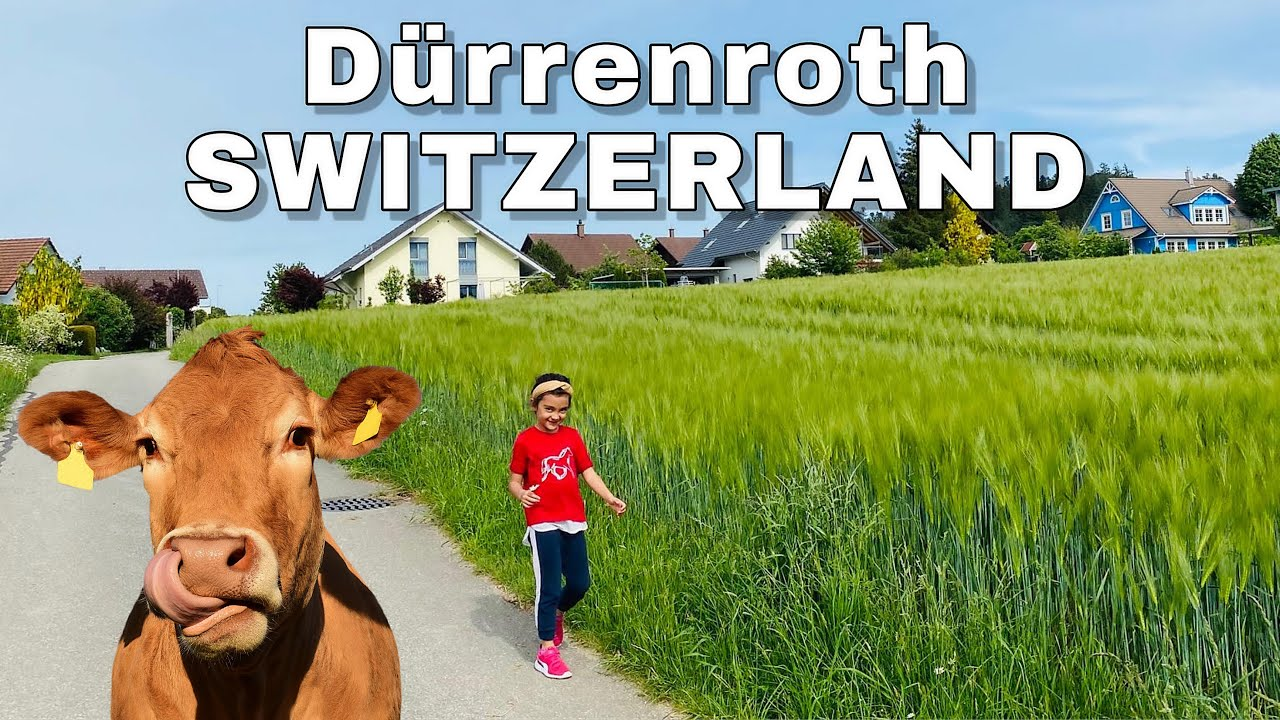 DÜRRENROTH SWITZERLAND | Beautiful Village | Visiting my friend after ...