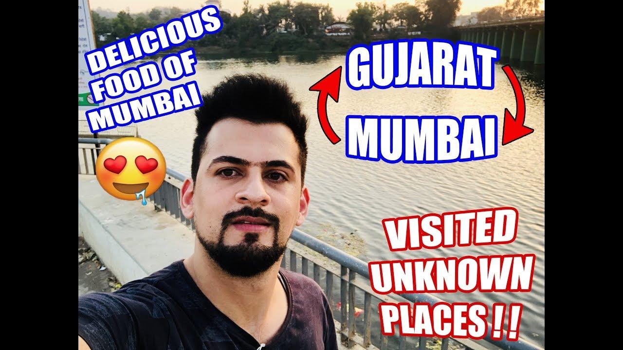From Mumbai To Gujarat 2019 | Visiting A Non-Places Eating Mumbai Snac...