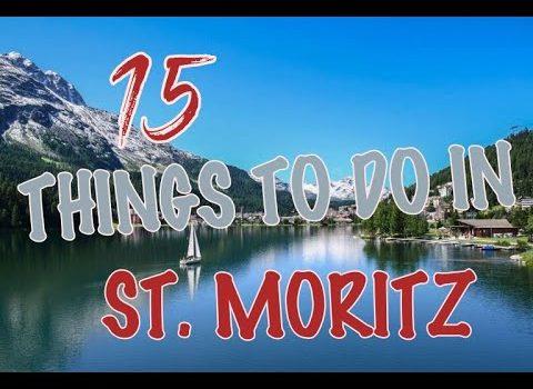 Top 15 Things To Do In St. Moritz, Switzerland