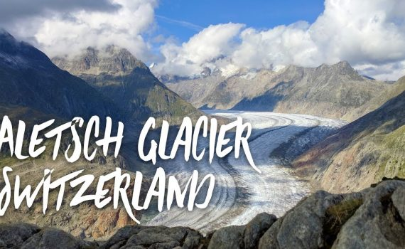 Visiting The Aletsch​ Glacier In Switzerland Before It Melts From Glob...