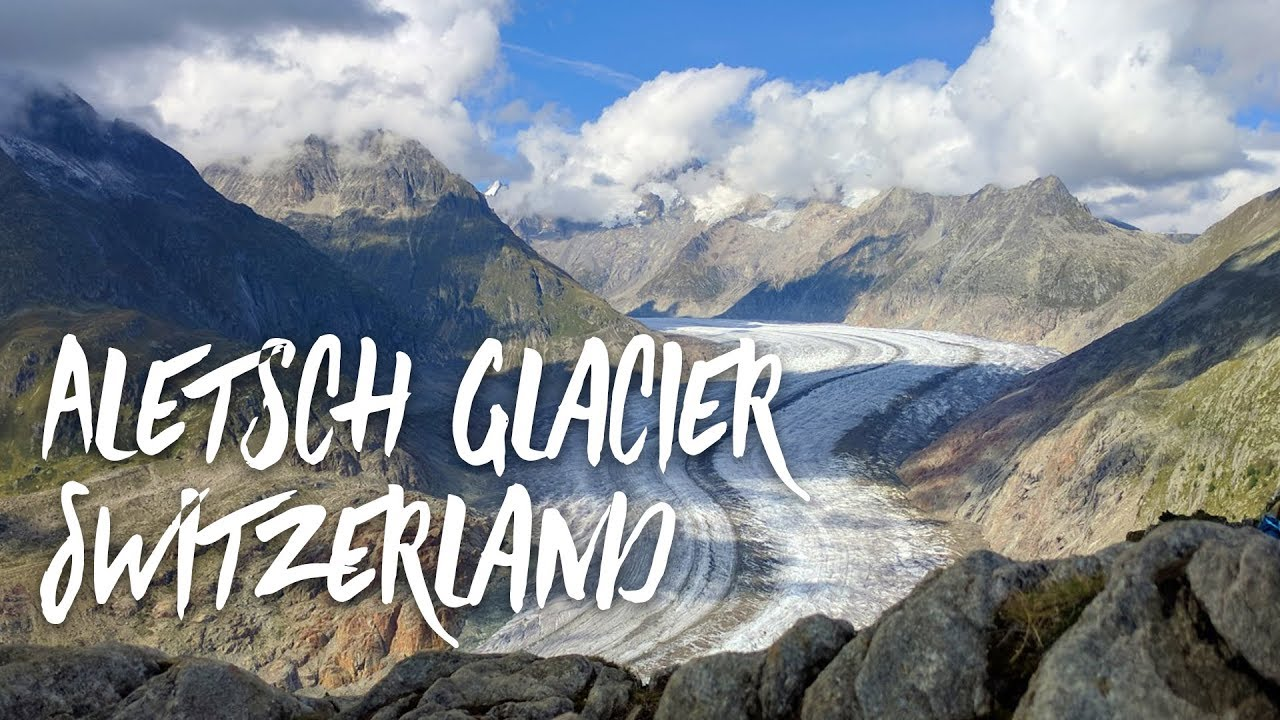 Visiting The Aletsch Glacier In Switzerland Before It Melts From Glob...