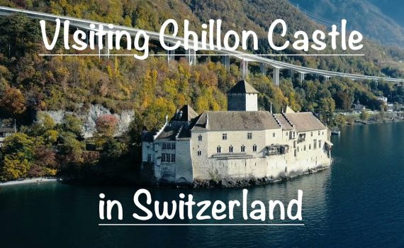 Visiting a real castle in Switzerland