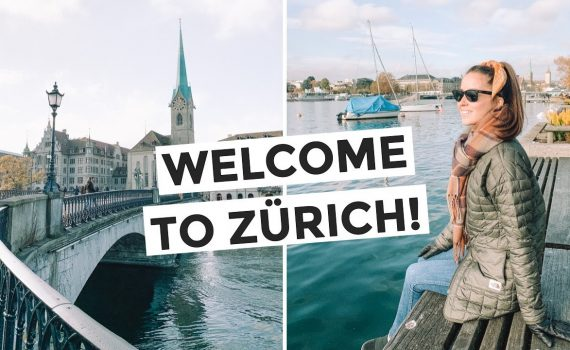 We made it to SWITZERLAND 😍 Things to do in ZURICH!