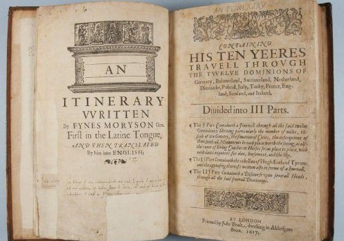 An Itinerary Compiled By Fynes Moryson Gent. First in Latine Tongue... - An Itinerary Written By Fynes Moryson Gent First in the 500x350