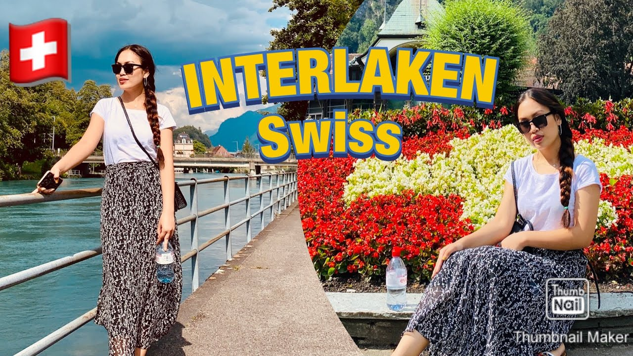 INTERLAKEN  | SHOW YOU AROUND TOURIST  PLACE  | In Switzerland |  Ti...