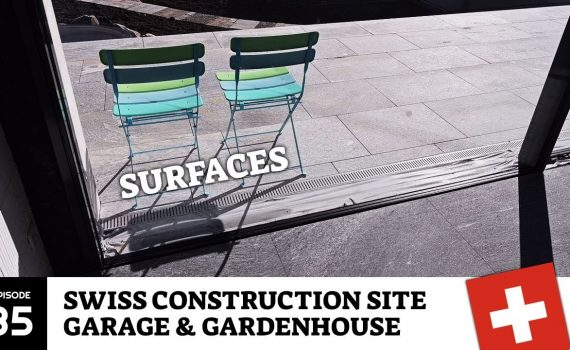 Many beautiful surfaces - Construction Site - Garden design Switzerlan...