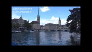 Sights & Sounds around Lake Zurich, Switzerland