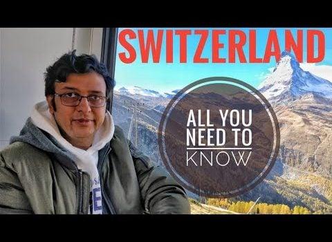 Switzerland / Swiss Tour Guide in Hindi l Swiss Travel Pass l Food &am...