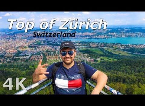 Travel Vlog: My beautiful Trip to Uetliberg, Top of Zürich, Switzerlan...