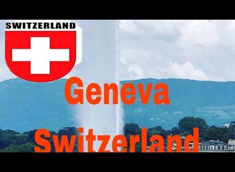 Travelling To Geneva Switzerland/  5 Places to go in Geneva Switzerlan...