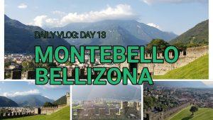 Visiting Montebello Castle in Bellinzona,Switzerland