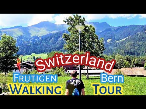 Walking tour in Bern, Switzerland /How To Enjoy The Swiss Alps/Frutige...