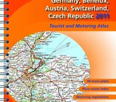 Atlas Germany, Benelux, Austria, Switzerland, Czech Republic 2011 2011... - Atlas Germany Benelux Austria Switzerland Czech Republic 2011 2011 396x350