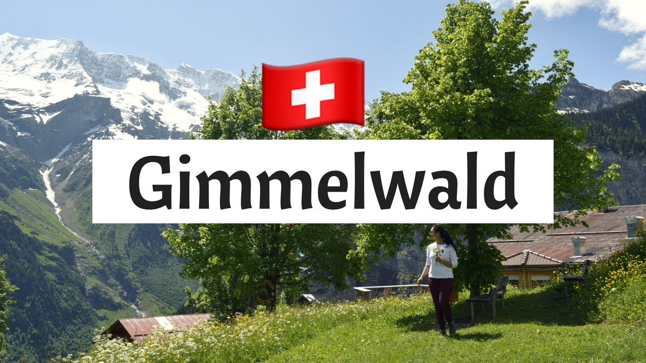 Gimmelwald, Experience the Alpine Switzerland (Hike, honesty shop, no ...