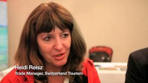Heidi Reisz, Switzerland Tourism - TTR Travel Industry Road Show