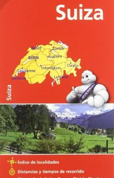 Mapa Nationwide Suiza (Mapas Nationwide Michelin) - Mapa National Suiza Mapas National Michelin 225x350