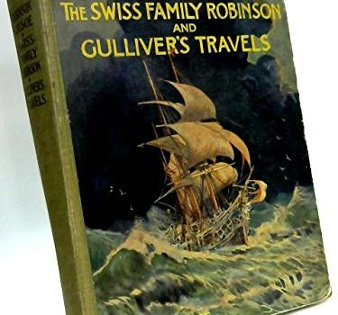 Robinson Crusoe, The Swiss Family Robinson and Gulliver's Travels Reto... - Robinson Crusoe The Swiss Family Robinson and Gullivers Travels Reto 375x350