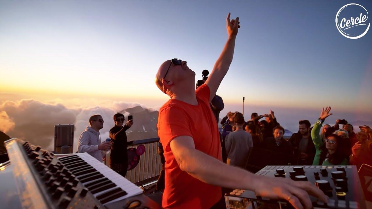 Stephan Bodzin live @ Piz Gloria in Mürren, Switzerland for Cercle