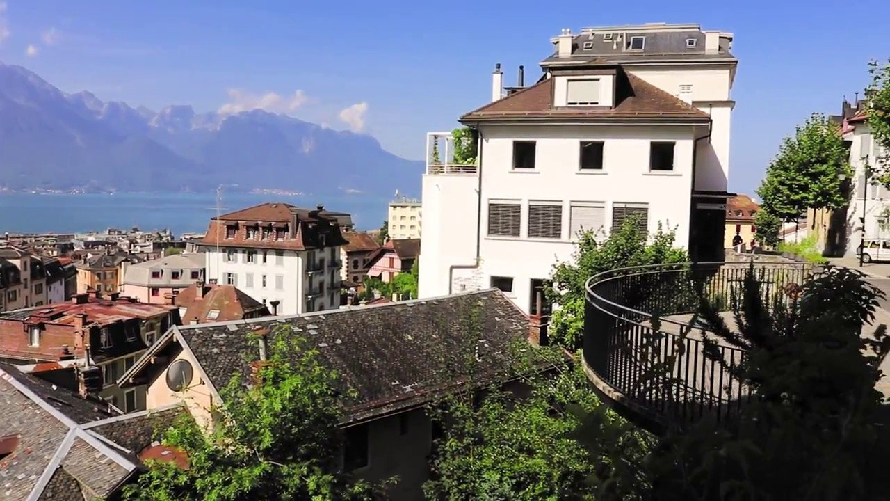 Travelling in and around Montreux Switzerland
