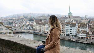 Work Trip to Switzerland + Exploring Altstadt (Old Town) | TRAVEL VLOG