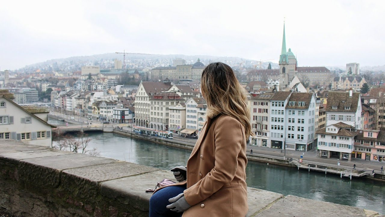 Work Trip to Switzerland + Exploring Altstadt (Old Town) | TRAVEL VLOG