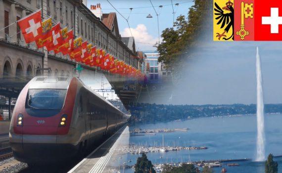 Geneva Switzerland 4K  - Interesting facts about Geneva | Best Citie...