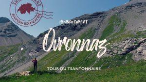 OVRONNAZ: Switzerland, Valais   Tour du Tsantonnaire