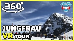 Switzerland tourism | Virtual guided tour of Jungfrau 360 VR Video