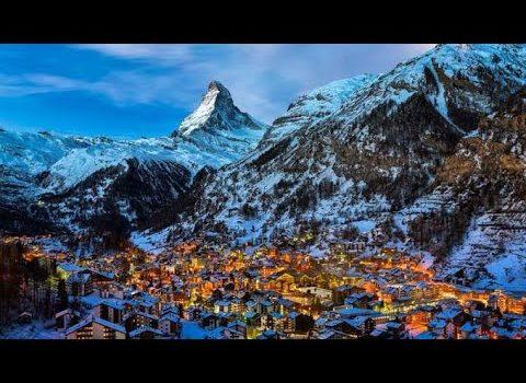 Zermatt, Switzerland in the heart of the Alps