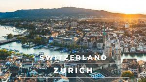 Zurich Switzerland in 4k cinematic | Beautiful Zurich City by drone – ...