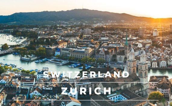 Zurich Switzerland in 4k cinematic   Beautiful Zurich City by drone – ...