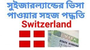 tourist voucher for Switzerland Visa